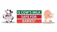 Is cow's milk safe for babies?